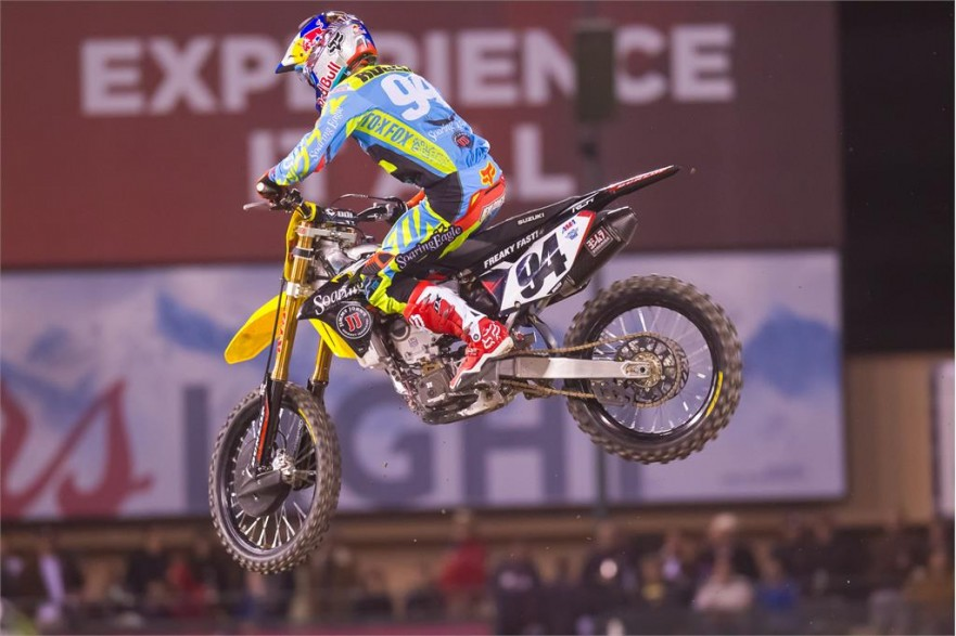 AMA Supercross Oakland 2016