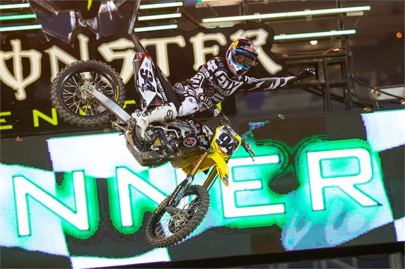 AMA Supercross Detroit 2016 Ken Roczen