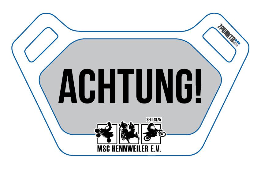 Streckensperrung MSC Hennweiler