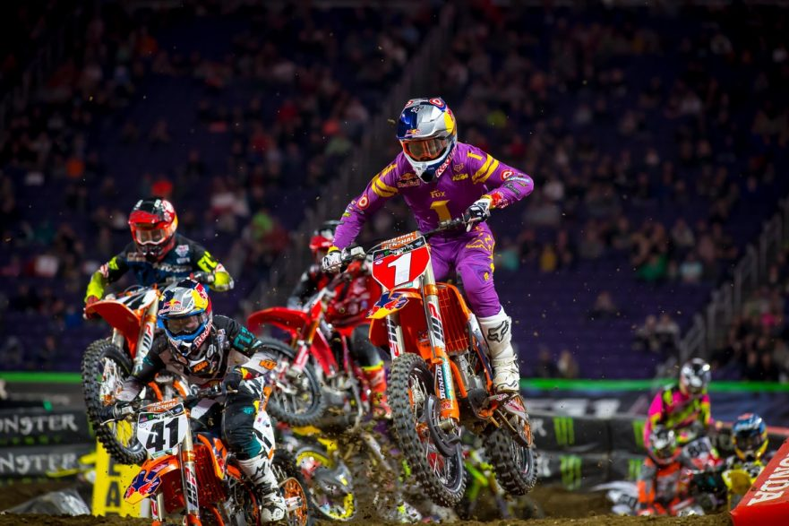 Monster Energy AMA Supercross Championship Atlanta 2017