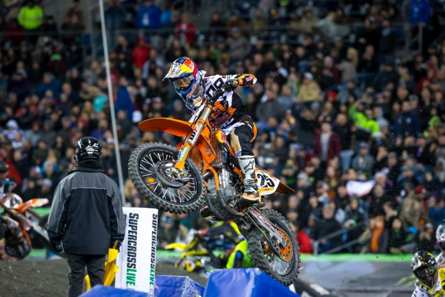 Monster Energy AMA Supercross Championship Salt Lake City 2017