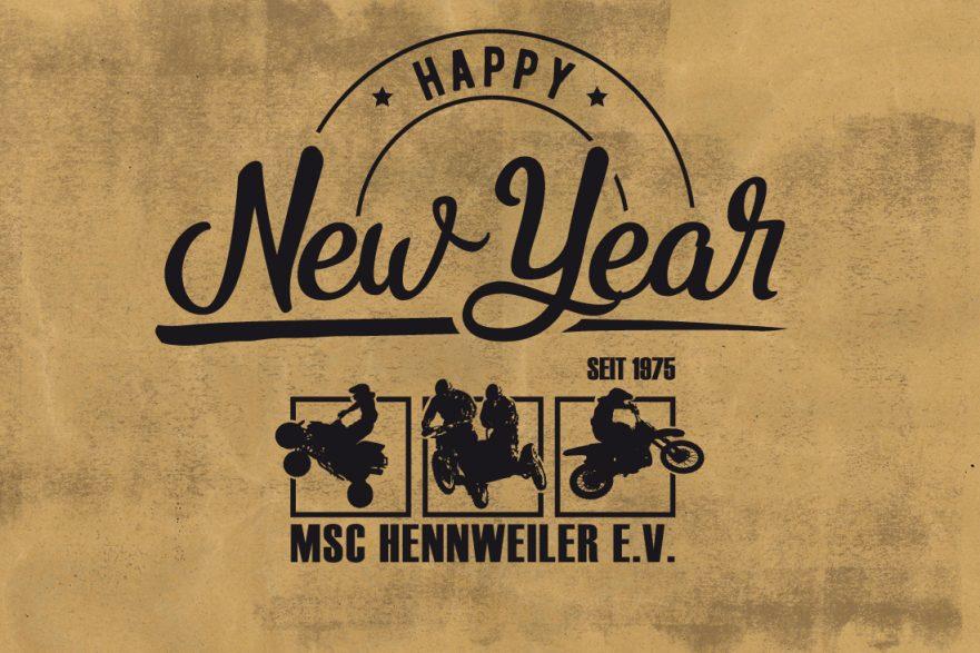 Frohes Neujahr 2018 MSC Hennweiler