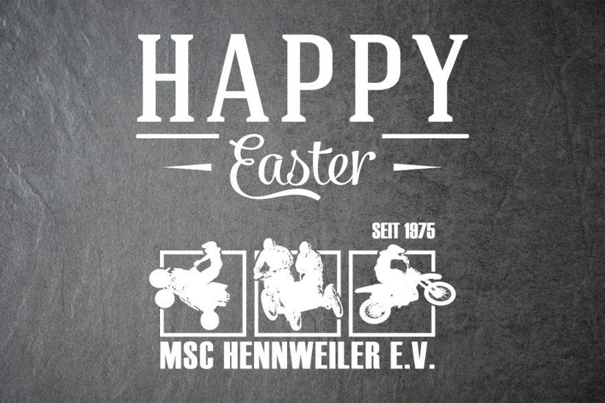 Frohe Ostern 2018 MSC Hennweiler