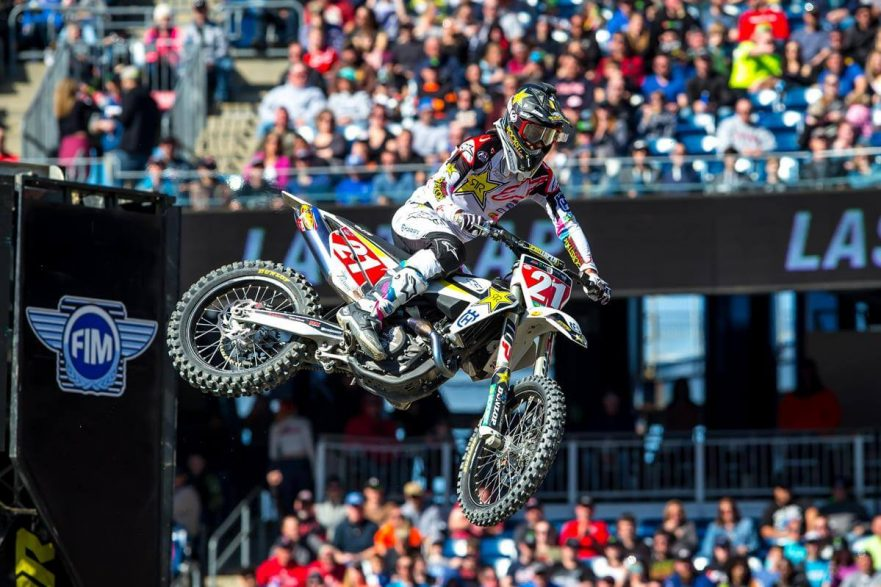 Rockstar Energy Husqvarna Factory Racing's Jason Anderson (Photo_ Simon Cudby)