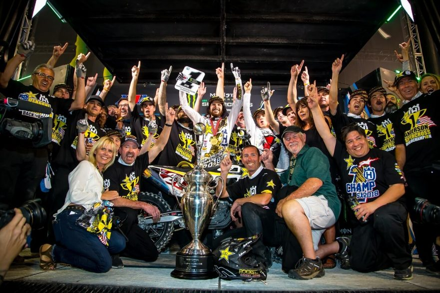 Rockstar Energy Husqvarna Factory Racing Jason Anderson